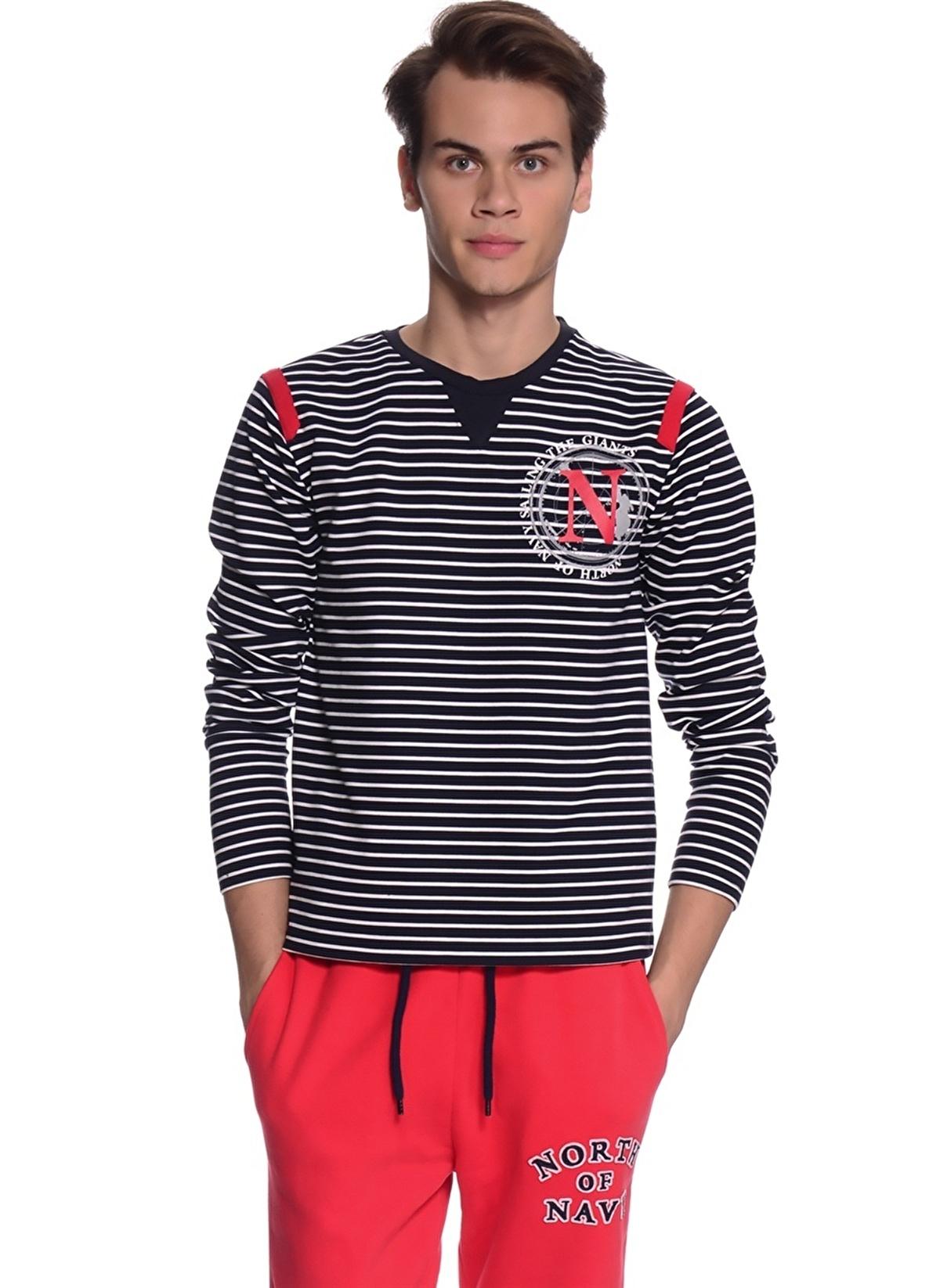 North Of Navy Tişört 62isk Komi T-shirt – 44.99 TL